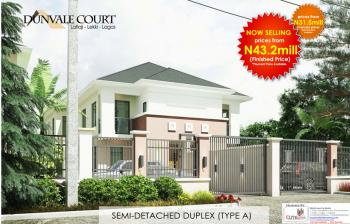 Now Selling | 4 Bedroom Semi Detached Duplex, Dunvale Court, Lafiaji (after Orchid Hotel By Second Toll Gate), Lekki, Lagos, Semi-detached Duplex for Sale