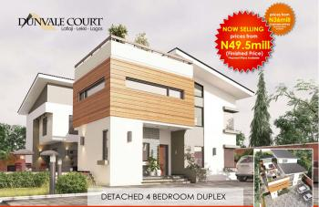 Secure a Unit | 4 Bedroom Fully Detached Duplex, Dunvale Court, Lafiaji (after Orchid Hotel By Second Toll Gate), Lekki, Lagos, Detached Duplex for Sale