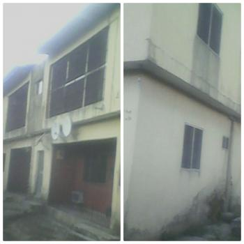 a Building of 5 Flats 2 Bedroom and 1 Flat Self Contained, Tiles and Fenced.  The Compound Is Floored., Off Refinery Road, Opp Mekaval Hotel, Warri, Delta, Commercial Property for Sale