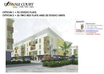 Secure a Unit | 1  Bedroom Studio Apartment, Dunvale Court, Lafiaji (after Orchid Hotel By Second Toll Gate), Lekki, Lagos, Lekki, Lagos, Self Contained (studio) Flat for Sale