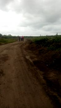 Land  Facing The Road, 2 Minutes Drive From The Express Road That Passes By -greenspringschool, Industrial Estates, Bola Tinubu Model Market. 20 Minutes Drive From Eleko Junction, Ibeju Lekki, Lagos, Mixed-use Land for Sale