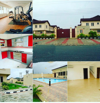 Lovely 4 Bedroom Semi Detached Duplex, Phase 2, Osborne, Ikoyi, Lagos, Semi-detached Duplex for Rent
