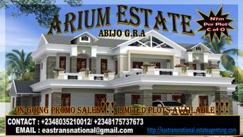 Promo Sales!!! Arium Estate @ N7m per Plot! Abijo G.r.a with C of O, Located Beside Chois Gardens Abijo G.r.a, Abijo, Lekki, Lagos, Residential Land for Sale