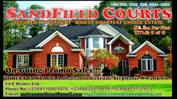 Sound Secured Investment! Immediate Allocation!!! Gated/.fenced Buy and Build Immediately!, Located Along The Lekki Major Coastal Express Road with Global C of O, Lekki Free Trade Zone, Lekki, Lagos, Mixed-use Land for Sale