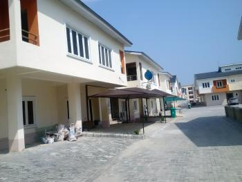 4 Bedroom Semi Detached House with Bq (carcass), Behind Lagos Business School, Off Lekki-epe Expressway, Lekki Gardens Estate, Ajah, Lagos, Semi-detached Duplex for Sale