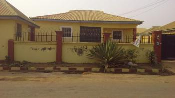 Delightful  3 Bedroom Bungalow with 2 (nos) Serviced Quarters 750 Square Meters, Efab Estate, Lokogoma District, Abuja, Detached Bungalow for Sale