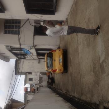 Spacious Mini Flat, Upstairs, Eric Manuel Crescent, Bode Thomas, Surulere, Lagos, Mini Flat for Rent