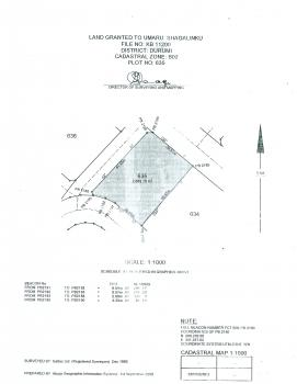 2,665sqm Commercial Plot  (not Specified) with C of O at Durumi for N210,000,000, Durumi By Area 1 Overhead  Bridge, Durumi, Abuja, Commercial Land for Sale