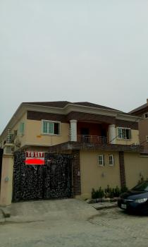 3 Bedroom Upstairs (2 People in a Compound), Agungi, Lekki, Lagos, Flat for Rent