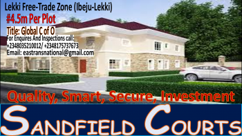Sound Secured Investment!!! Gated/ Fenced with C of O!, Located in Origangan Part of Lekki, Lekki Free Trade Zone, Lekki, Lagos, Residential Land for Sale