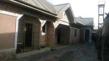 Bungalow of Double Three Bedroom Flats, at Osubi Close to The Airport, Okpe, Delta, Semi-detached Bungalow for Sale