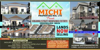 Obama Staff Housing Estate, Gwako, Beside Ty Danjuma Academy, Gwagwalada, Abuja, Residential Land for Sale