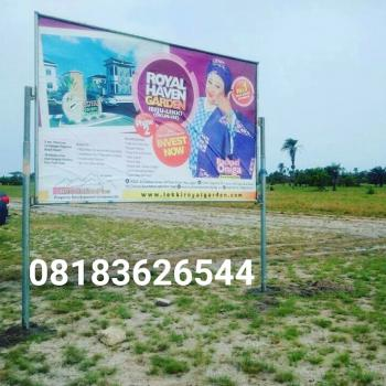 Secure Estate Close to La Campagne Tropicana, Akodo Ise, Ibeju, Lagos, Mixed-use Land for Sale