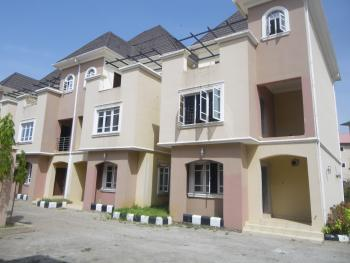 4 Bedroom Terrace, Landmark- Utako Police Station, Utako, Abuja, Terraced Duplex for Sale
