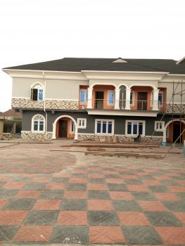 Newly Built 4 Units of 4 Bedroom Semi Detached Duplex with Servants Quarters, Swimming Pool, Cctv Camera and Fully Fitted Kitchen, Off Oladimeji Alo Street, Lekki Phase 1, Lekki, Lagos, Semi-detached Duplex for Rent
