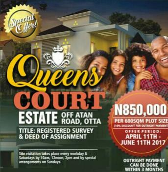 Very Cheap Affordable Lands, Atan Road, Ado-odo/ota, Ogun, Mixed-use Land for Sale