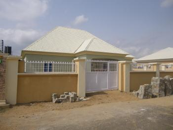 New 3 Bedrooms + Guest Room, Life Camp, Gwarinpa, Abuja, Detached Bungalow for Rent
