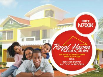 Affordable Land, Mowe, 10 Minute Drive From Rccg Camp, Idimu, Lagos, Mixed-use Land for Sale