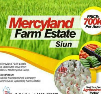 Affordable Farmland in a Farm Estate, Obafemi Owode, Ogun, Mixed-use Land for Sale