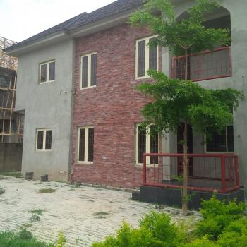 Uncompleted 4 Bedroom  Duplex with a Room Servant Quarters in an Estate, By Family Worship Centre, Wuye, Abuja, Semi-detached Duplex for Sale