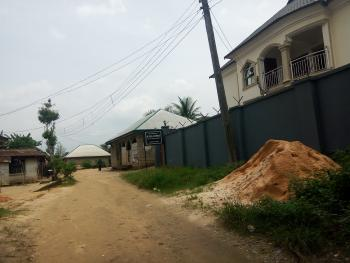 Well Located, Dry and Firm Land Measuring About 500sqm with 4 Bedroom Bungalow, Off Nwaniba Road, Uyo, Akwa Ibom, Mixed-use Land for Sale