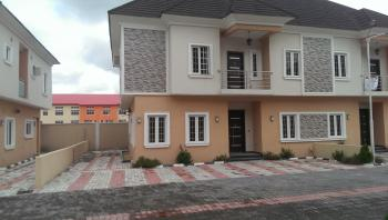 Wonderfully Built 4 Bedroom Semi-detached House with B/q, Glamour Gardens Abijo Gra, Ajah, Lagos, House for Rent