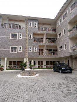 Spacious 1 Bedroom Furnished and Serviced Apartment with Fitted Kitchen, Air Conditioner, Enclosed Swimming Pool, Gym, Off 5th Avenue, Banana Island, Ikoyi, Lagos, Mini Flat for Rent