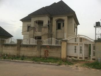 80% Finished 5 Bedroom Duplex with Boys Quarters, Efab Metropolis Estate, Karsana, Abuja, Detached Duplex for Sale