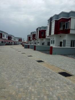 4 Bedroom Duplex with Bq, By Second Toll Gate at Chevron, Lekki, Lagos, Detached Duplex for Sale