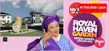 Royal Haven Phase 2, 5 Mins After La Campagne Tropicana, Iberekodo, Ibeju Lekki, Lagos, Mixed-use Land for Sale
