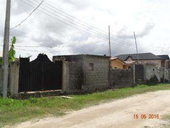 Fully Fenced and Gated Dry and Firm Land Measuring About 614 Square Metres, Ogoyo Area, Off Mobil Estate Road, Lekki Expressway, Lekki, Lagos, Mixed-use Land for Sale