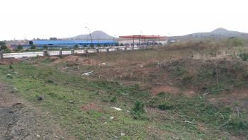 Commercial Land, By Zuba Expressway, Beside Or Sharing Fence with Conoil Filling Station and Independent Marketer Filling Station, Facing a Very Busy Expressway, Before The Flyover, Lugbe District, Abuja, Commercial Land for Sale