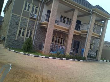 Well Finished 8 Bedroom Duplex with 3 Sitting Rooms,  3 Rooms Bq and a Penthouse on a 100 By 200 Land Size, Nta Asaba Street, Asaba, Delta, Terraced Duplex for Sale