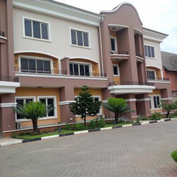 Spacious Luxury 5 Bedroom Terrace Duplex with Bq, Ac, Fitted Kitchen, Open Courtyard, Large Parking Space, Shonibare Estate, Ikeja, Lagos, Terraced Duplex for Rent