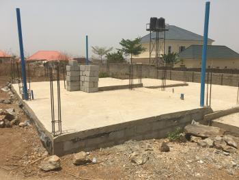 Foundation of a Proposed 5 Bedroom Duplex, Cajah Estate, Orozo, Abuja, Residential Land for Sale