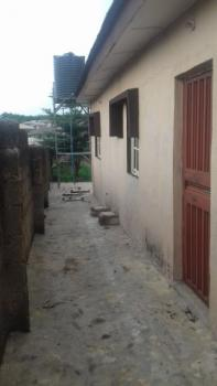 2 Bedroom Flat and a One Room Esquire Self Contained and a Full Plot of Land, Property Is Close to State Police Headquarters at Eleweran, and Just 5 Minutes From Unaab, Abeokuta South, Ogun, House for Sale