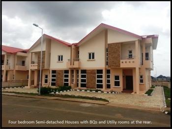 4-bedroom Semi Detached House + 1 Room Bq, Apo, Abuja, Semi-detached Duplex for Sale