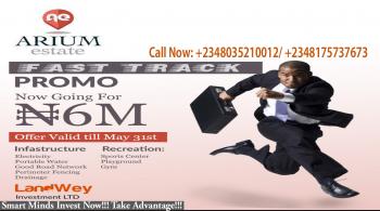 Smart Minds Invest Now!!! Arium Estate Abijo at N6m per Plot!!!, Located 2mins Away From Lekki Epe Express Way, Beside Chois Gardens Estate, Abijo G. R. a, Abijo, Lekki, Lagos, Residential Land for Sale