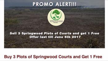 Buy 3 and Get One Free in Springwood Courts Estate, Ibeju Lekki, Lagos, Mixed-use Land for Sale