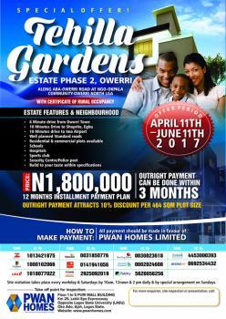 Tehilla Gardens, Ngor-okpala, Owerri, Imo, Residential Land for Sale