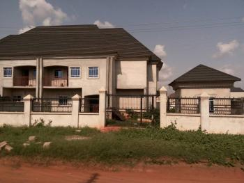 a Tastefully Finished Brand New 4 Bedroom Twin Duplex with One Bedroom Flat Bq Attached to Each, Behind Nta Asaba, Close to Dell College, Asaba, Delta, Detached Duplex for Sale