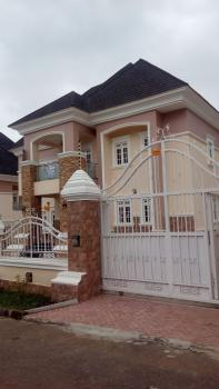 Brand New 5 Bedroom Duplex with 2 Room Contain Boys Quarter, Landscape Well Finished, Off Obasanjo Express Way, Karsana, Abuja, Detached Duplex for Sale