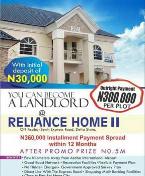 Reliance Estate, Asaba-benin Express Way, Asaba, Delta, Residential Land for Sale