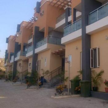 Luxury N a Top Notch Serviced 4 Bedroom Terrace Duplex with a Bq, Stand By Gen, Security, By Asokoro Axis, Guzape District, Abuja, Terraced Duplex for Sale