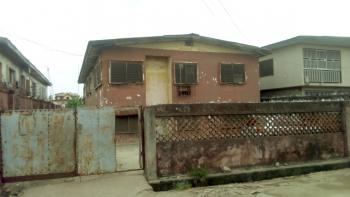 Solid 2 Storey Building of 2 Nos 3 Bedroom Flat with a Dilapidated Storey Building  on 3 Plots of Land, Oladeinde Street, Aguda, Surulere, Lagos, House for Sale