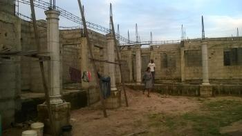 a Massive Uncompleted Building Designed for 21 Flats of 2 and 1 Bedrooms But 7 Already Completed and Sitting on 2 Plots of Land, Around Mountain of Fire, Off Mcc Road, Owerri, Imo, Block of Flats for Sale