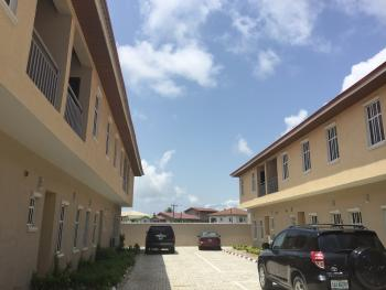 3 Bedroom Duplex with a Bq for Rent, Just Before Igbo Efon  Roundabout, Igbo Efon, Lekki, Lagos, Terraced Duplex for Rent