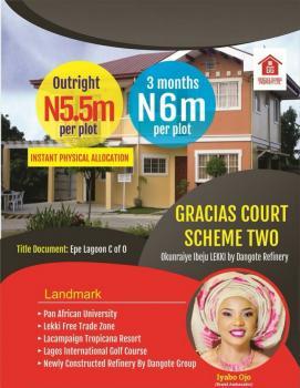 Gracia Courts Scheme, Epe Lagoon, Epe, Lagos, Mixed-use Land for Sale