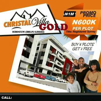 Christal Villa Gold Estate, Christal Villa Gold, Igbogun, Ibeju Lekki, Lagos, Mixed-use Land for Sale