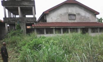 22 Plots of Land and a Building Well Located with a C of O, Along East West Road, Rumuigbo, Port Harcourt, Rivers, Mixed-use Land for Sale